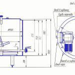 Схема ванны длительной пастеризации